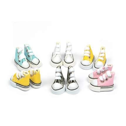 Обувь для кукол Magic 4 Toys Кеды на шнурках, 3,9*3 см, ассорти, 6 пар
