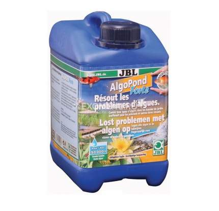 Средство для борьбы с водорослями в пруду JBL AlgoPond Forte 2500 мл