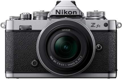 Фотоаппарат системный Nikon Z fc Kit DX 16-50 f3.5-6.3VR SL Black/Silver