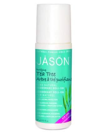 Дезодорант Jāsön Purifying Tea Tree Deodorant Roll-on
