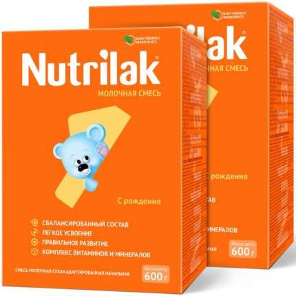Молочная смесь Nutrilak 1, с 0 до 6 мес., Нутрилак, 600 г. (2 штуки)