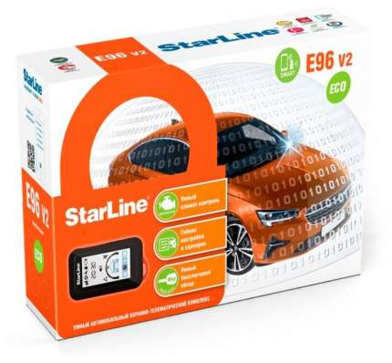 Автосигнализация StarLine E96 BT ECO Ver.2