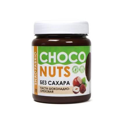 Натуральная паста без сахара Snaq Fabriq - шоколадно-ореховая (250г)