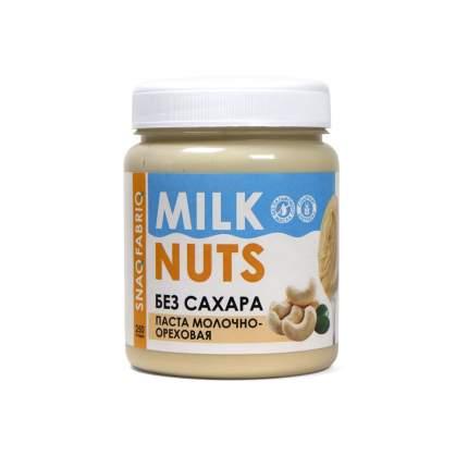 Натуральная паста без сахара Snaq Fabriq - молочно-ореховая (250г)