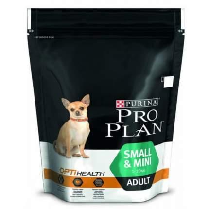 Сухой корм для собак PRO PLAN Small&Mini Adult, для малых пород, с курицей и рисом, 700г