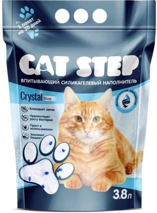 Впитывающий наполнитель для кошек Cat Step силикагелевый, 1.7 кг, 3.8 л