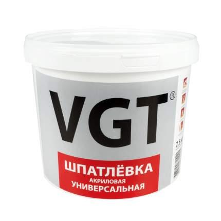 """Шпатлевка универсальная акриловая 7,5 кг """"Vgt"""""""