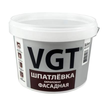 "Шпатлевка фасадная 3,6 кг ""Vgt"""