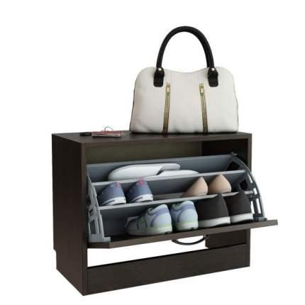Обувница MFMaster Дженни-1 80298712 60,2х29,6х46,4 см, венге