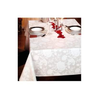 Скатерть Verona d155 см (100%хлопок), белый
