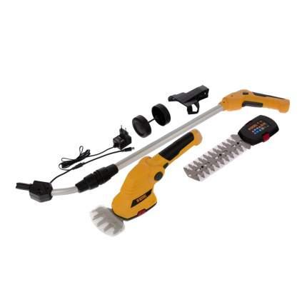 Аккумуляторные ножницы с телескопической ручкой Denzel G801E