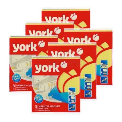 Салфетка ''YORK'' (Губч.) 3 шт., шт