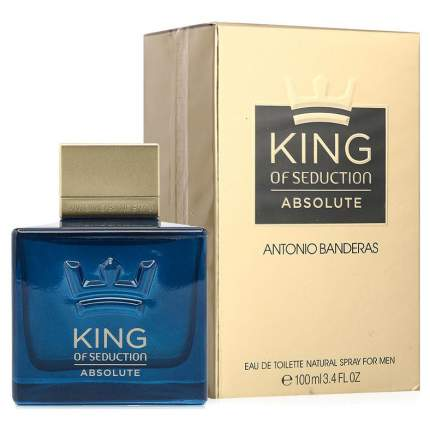 Туалетная вода Antonio Banderas King Of Seduction Absolute 100 мл
