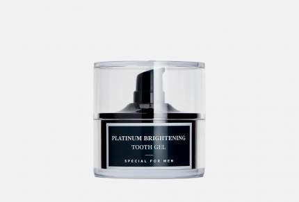 Мужской гель для зубов MontCarotte Platinum Brightening