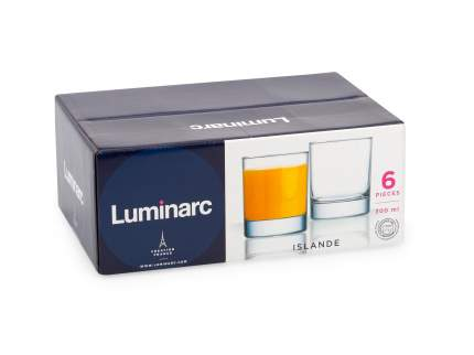 Набор стаканов Luminarc исландия 300 мл 6шт
