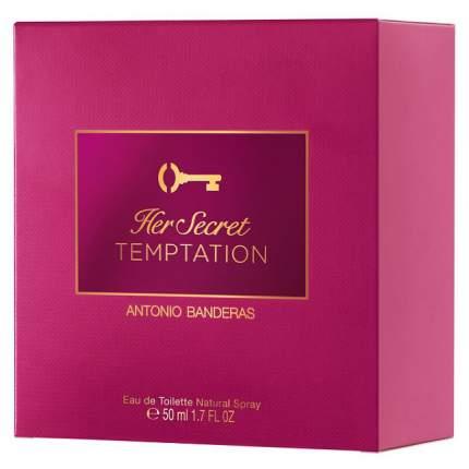 Туалетная вода Antonio Banderas Her Secret Temptation 50 мл