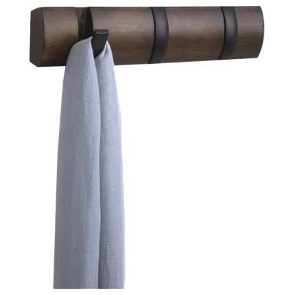 Вешалка настенная Umbra Flip 318853-048 Коричневый