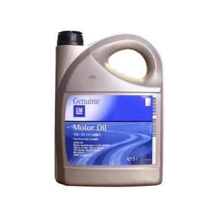 Моторное масло General Motors Dеxos2 5W-30 5л