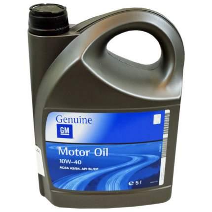 Моторное масло General Motors Semi Synthetic Plus 10W-40 5л
