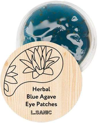 Патчи для глаз L.Sanic Herbal Blue Agave Eye Patches 60 шт