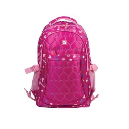 Рюкзак детский Brauberg молодежный Сердечки 31х12х45 см