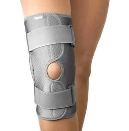 Ортез с шарнирами на коленный сустав, L, серый B.Well W-3320