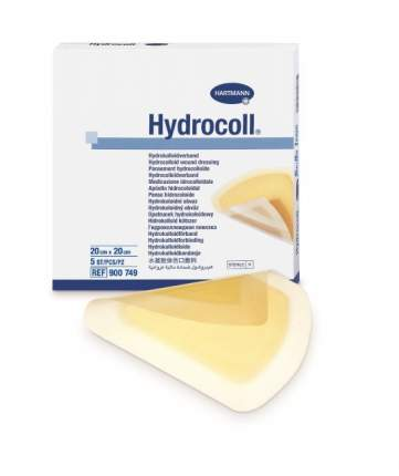 Гидроколлоидная повязка, 20х20 см Hydrocoll 5 шт.