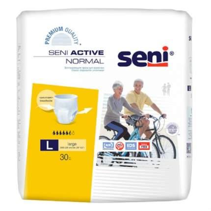 Впитывающие трусы для взрослых, L, 30 шт. Seni Active Normal