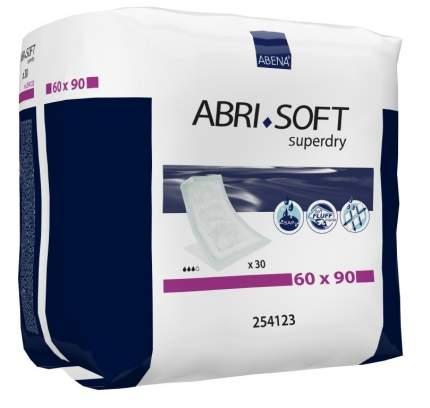 Впитывающие пеленки, 90x60 см, 30 шт. Abena Abri-Soft Superdry