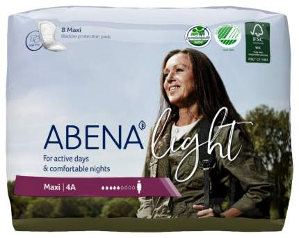 Урологические прокладки, 8 шт. Abena Light Maxi 4A