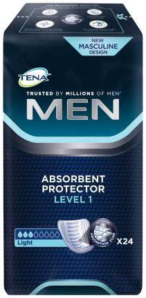 Урологические прокладки для мужчин, 24 шт. Tena Men Level 1