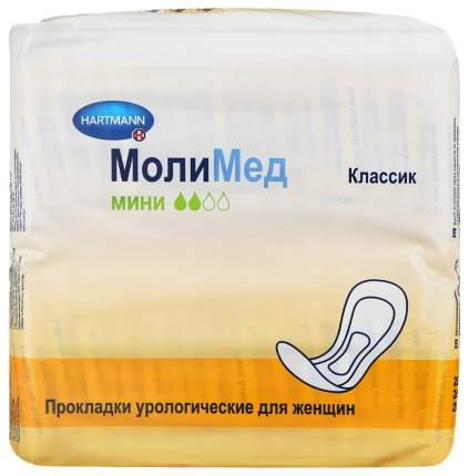 Урологические прокладки для женщин, 28 шт. MoliMed Classic Mini