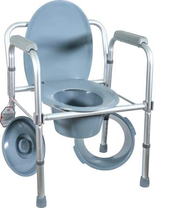 Кресло-туалет, складное Amrus AMCB6808