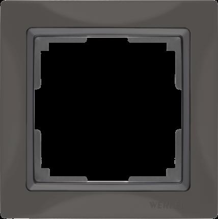 Рамка для выключателя Werkel WL03-Frame-01 a036698 серо-коричневый