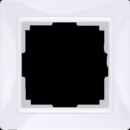 Рамка для выключателя Werkel WL03-Frame-01 a036625 белый