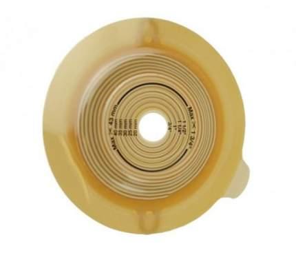 Конвексная пластина с креплением для пояса, отверстие 15-43 мм, фланец 60 мм Alterna