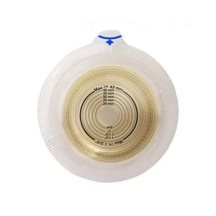 Конвексная пластина лайт с креплением для пояса, отверстие 15-43 мм, фланец 60 мм Alterna