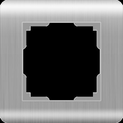 Рамка для выключателя Werkel WL12-Frame-01 a034326 серебряный