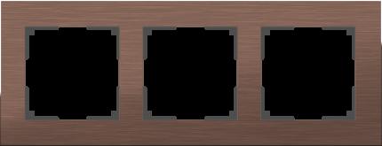 Рамка для выключателя Werkel WL11-Frame-03 a033747 коричневый