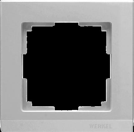 Рамка для выключателя Werkel WL04-Frame-01 a031802 серебряный