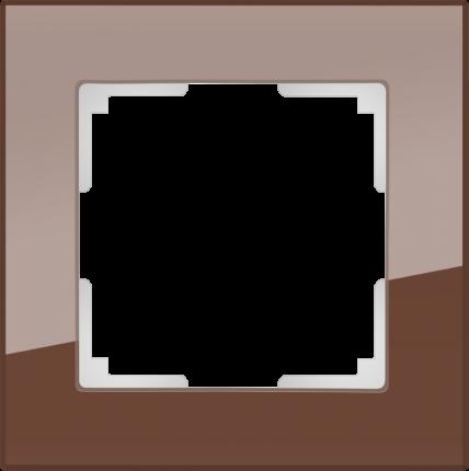 Рамка для выключателя Werkel WL01-Frame-01 a031792 мокко