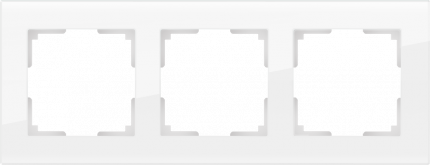 Рамка для выключателя Werkel WL01-Frame-03 a030821 белый