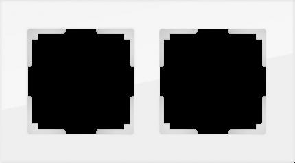 Рамка для выключателя Werkel WL01-Frame-02 a030820 белый