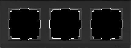 Рамка для выключателя Werkel WL04-Frame-03-black a029216 черный