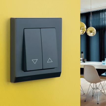 Рамка для выключателя Werkel WL04-Frame-01-black a029214 черный