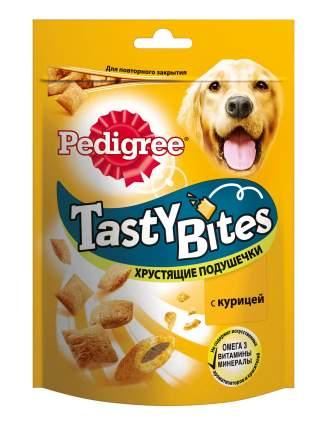 Лакомство для собак Pedigree Tasty Bites, подушечки, курица, 95г