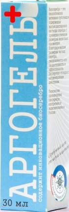 Гель с серебром для профилактики и лечения кожных заболеваний Аргогель, 30 мл