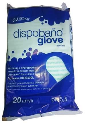 Пенообразующая рукавица CV Medica с ПЭ-ламинацией Dispobano Glove 20 шт.