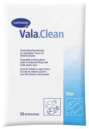 Одноразовые рукавицы, ламинированные пленкой изнутри HARTMANN Vala Clean Film 50 шт.