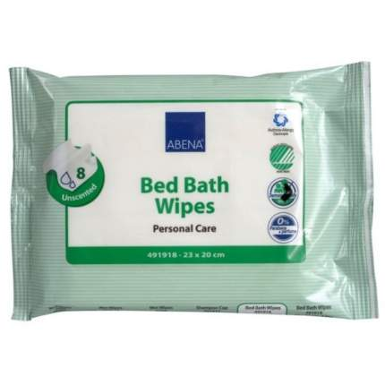 Влажные салфетки для гигиенических ванн Abena, 8 шт.